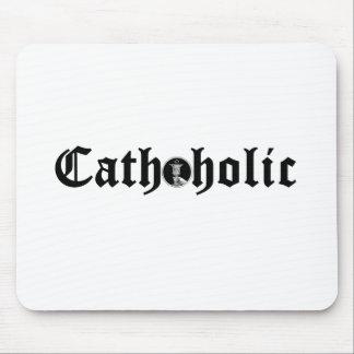 Cathoholic Mouse Pad