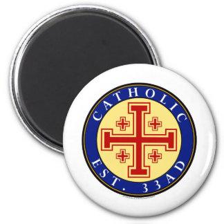 CATHOLIC 2 INCH ROUND MAGNET