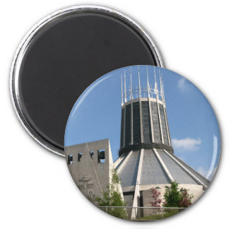 Catholic Cathedral - Liverpool 2 Inch Round Magnet
