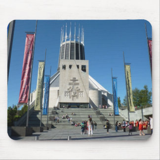 Catholic Cathedral - Liverpool Mousemat