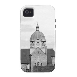 Catholic Church Black and White Photo Phone Case iPhone 4 Cover