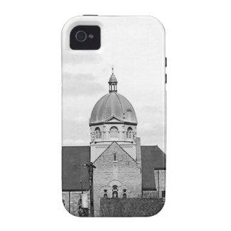Catholic Church Black and White Photo Phone Case iPhone 4 Cover