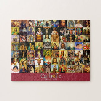 Catholic Church Since 33 A.D. Saint Picture Puzzle