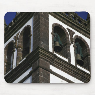 Catholic church tower mouse pad