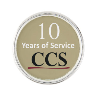 Catholic Community Services 10 Year Lapel Pin