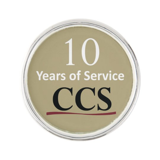 Catholic Community Services 10 Year Lapel Pin