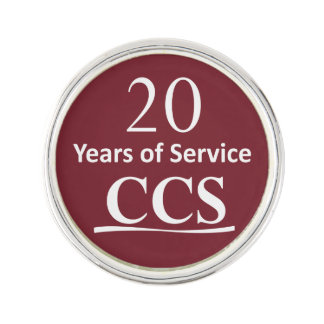 Catholic Community Services 20 Year Lapel Pin
