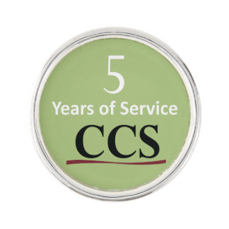 Catholic Community Services 5 Year Lapel Pin