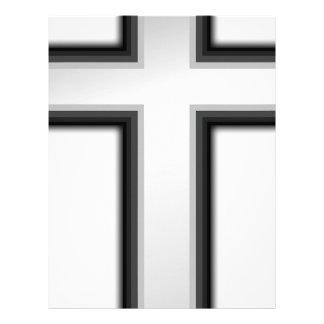 Catholic Cross Letterhead