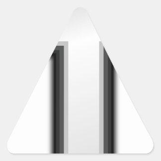 Catholic Cross Triangle Sticker