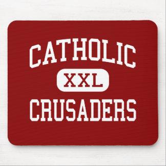 Catholic - Crusaders - High - New Iberia Louisiana Mouse Mats