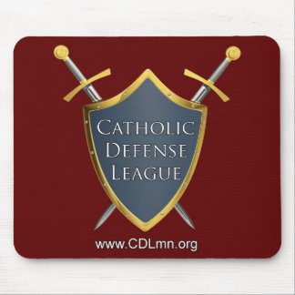 Catholic Defense League Mouse Pad