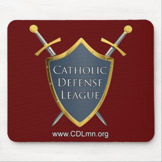 Catholic Defense League Mouse Pad