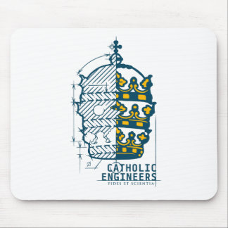 Catholic Engineers Logo- Mouse Pad
