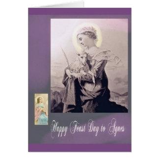 Catholic Feast Day Greeting Card