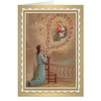 Catholic Greeting/Note Holy Card