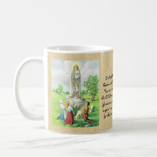Catholic Lady of Fatima Prayer Gift Personalized Coffee Mug