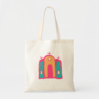 catholic mission art/mission tote/santa fe