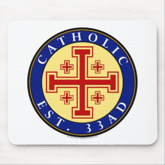 CATHOLIC MOUSE PAD