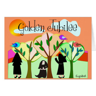 Catholic Nun Golden Jubilee Gifts Card