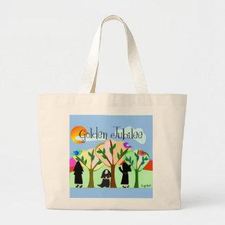 Catholic Nun Golden Jubilee Gifts Large Tote Bag