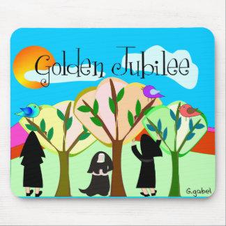 Catholic Nun Golden Jubilee Gifts Mousepads