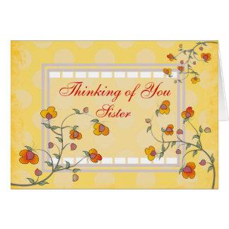 """Catholic Nun """"Thinking of You"""" card"""