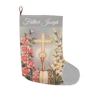 Catholic Priest Christmas Stocking