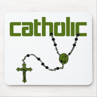 Catholic Rosary Mouse Pad