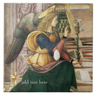 Catholic Saint Archangel Gabriel Add Verse Tile