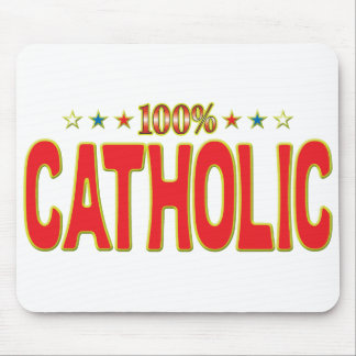 Catholic Star Tag Mouse Pads
