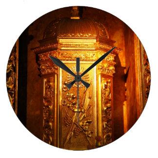 Catholic tabernacle clock