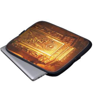 Catholic tabernacle laptop sleeve