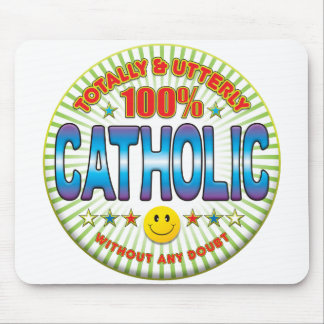 Catholic Totally Mouse Pad