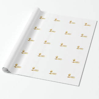 Catholic wrapping paper of Eucharist
