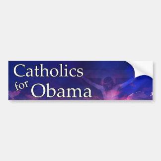 Catholics for Obama Bumper Sticker