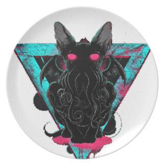 Cathulhu Plate