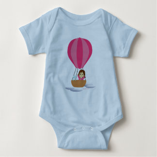 """Cathy and the Cat"" in globe Baby Bodysuit"