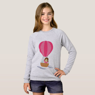 """""""Cathy and the Cat"""" in globe Sweatshirt"""