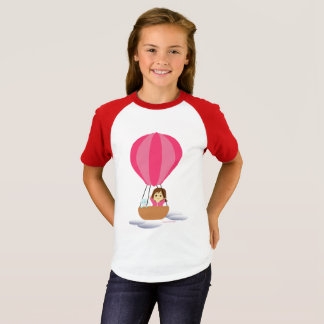 """""""Cathy and the Cat"""" in globe T-Shirt"""