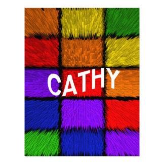 CATHY LETTERHEAD DESIGN