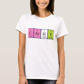 Cathy periodic table name shirt