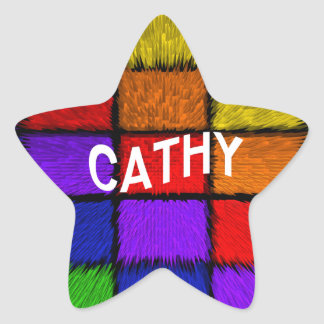 CATHY STAR STICKER