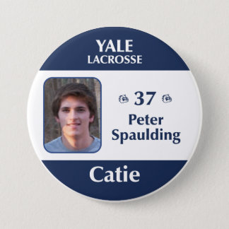 Catie - Peter Spaulding 3 Inch Round Button