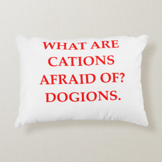 CATIONS DECORATIVE PILLOW