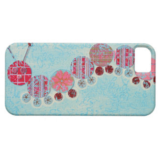 Catipillar Abstract Painting Case For The iPhone 5