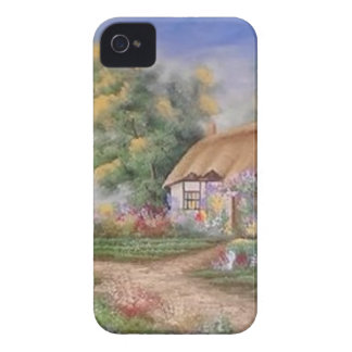 catlady cottage iPhone 4 cases