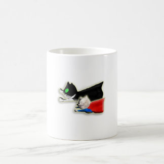 Catman & Super Sumie I. 11 Oz Magic Heat Color-Changing Coffee Mug