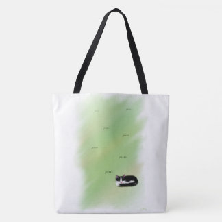 Catnap Kitten Tote Bag