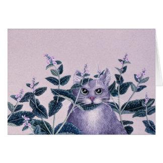 Catnip, by Darlene P. Coltrain Card
